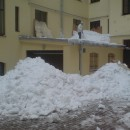 Sniega tīrīsana